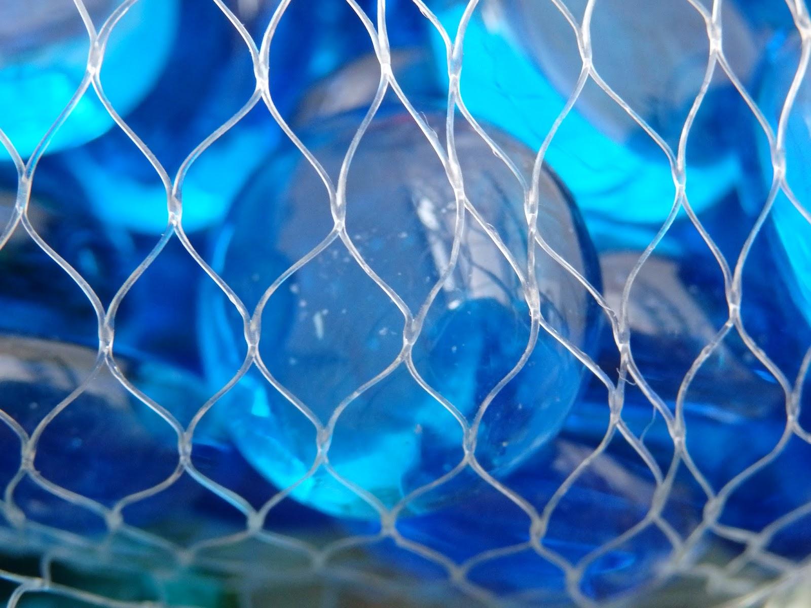стекло, камни, синий