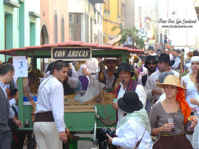 Galería fotos de la romería de San Juan en Arucas 2015, Gran Canaria