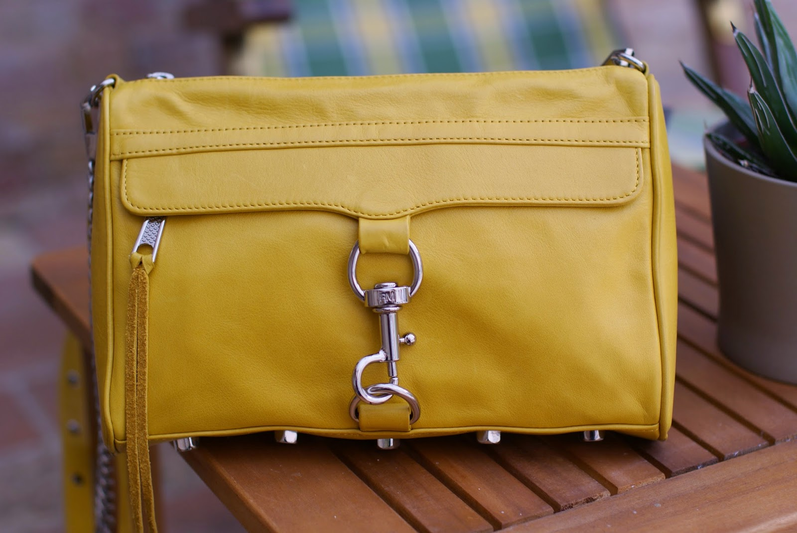 Rebecca Minkoff MAC clutch in yellow, Fashion and Cookies, fashion blogger