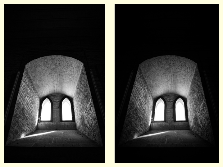 Matthew G. Beall vision driven black and white fine art photography  Münster Window under the Roof 2012 Ulm, Germany