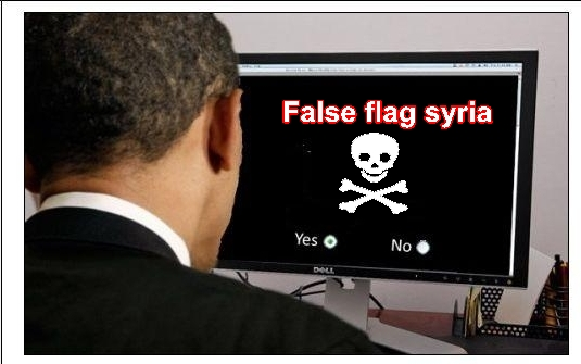 Attention: Possible attaque sous fausse bannière (OTAN-FSA) en Syrie False_flag_syria