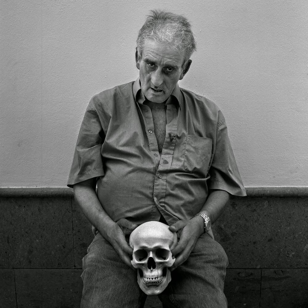 El poeta Leopoldo María Panero Blanc (16 de junio de 1948 - 5 de marzo de 2014). Fotografía de Thomas Canet