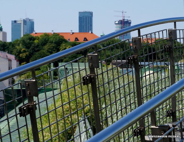 Warszawa Powiśle Biblioteka Uniwersytecka Dobra ogrody na dachu Irena Bajerska teren zielony
