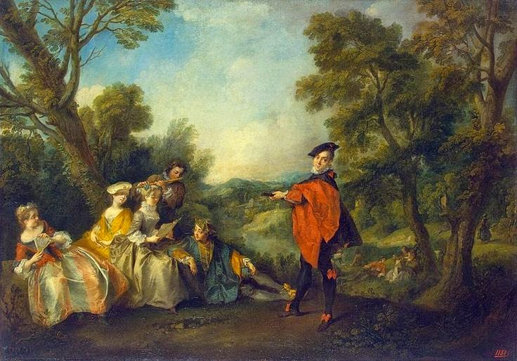 Concert in the Park, lancet, 1725