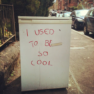 refrigerator, cold, cool, pun, sidewalk, existential, crisis, despair