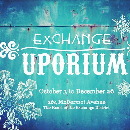 The Exchange Uporium Holiday Pop Up Shop