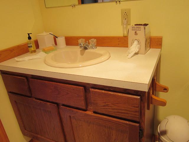 Design megillah bathroom redesign for under 200 for Bathroom redesigns