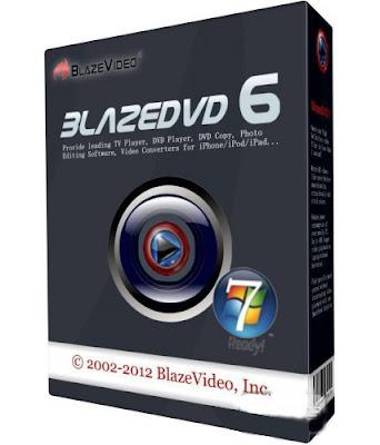 BlazeDVD Professional 6.1.1.3 Final + Crack