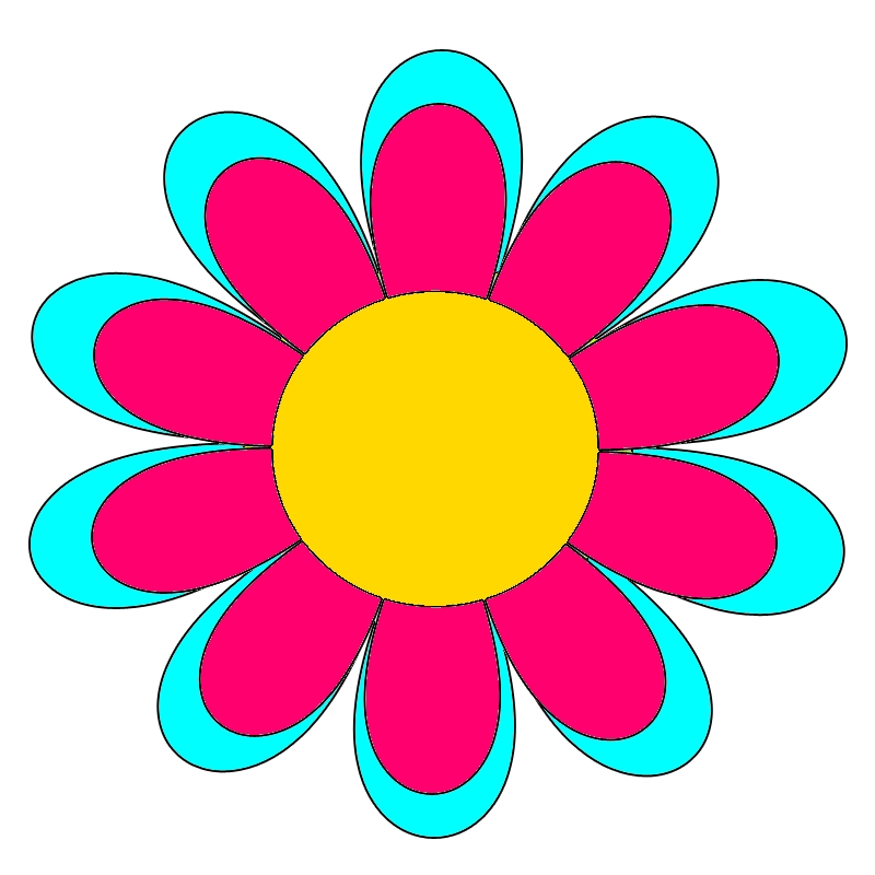 Immagini di fiori colorati da stampare for Fiori grandi da colorare