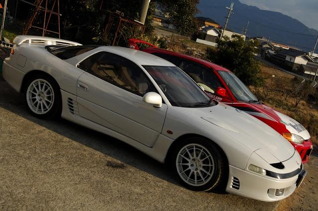 Mitsubishi 3000GT, GTO, japoński, sportowy samochód, grand tourer, twin turbo