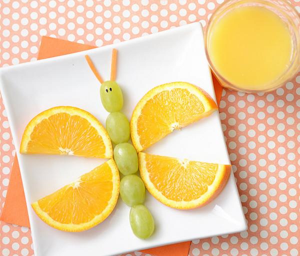 Cómo presentar la fruta en el plato