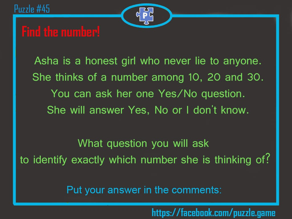 Asha Is A Honest Girl Who Never Lie To Anyone She Thinks Of Number