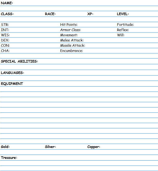 pai profile form for adults pdf