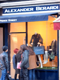 Fashion lovers will take a second look at the New in New York Alex Berardi boutique in Soho