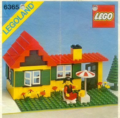 Steve 39 s lego blog the classic lego house for Classic house 1992