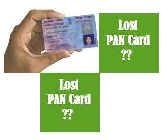 i lost pan card