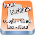 Cara Cek Artikel Sudah Terindek & Ada Backlinks Google, Yahoo, MSN, Alexa | Tips Blogspot | Cek Indek Dan Backlinks