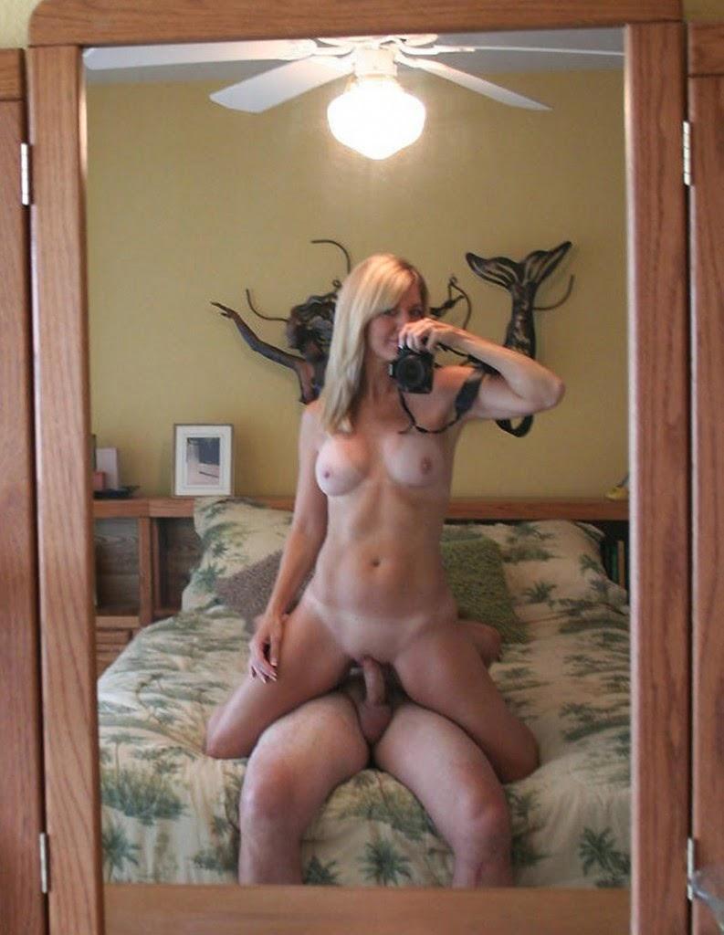 Para masturbarse frente a un espejo