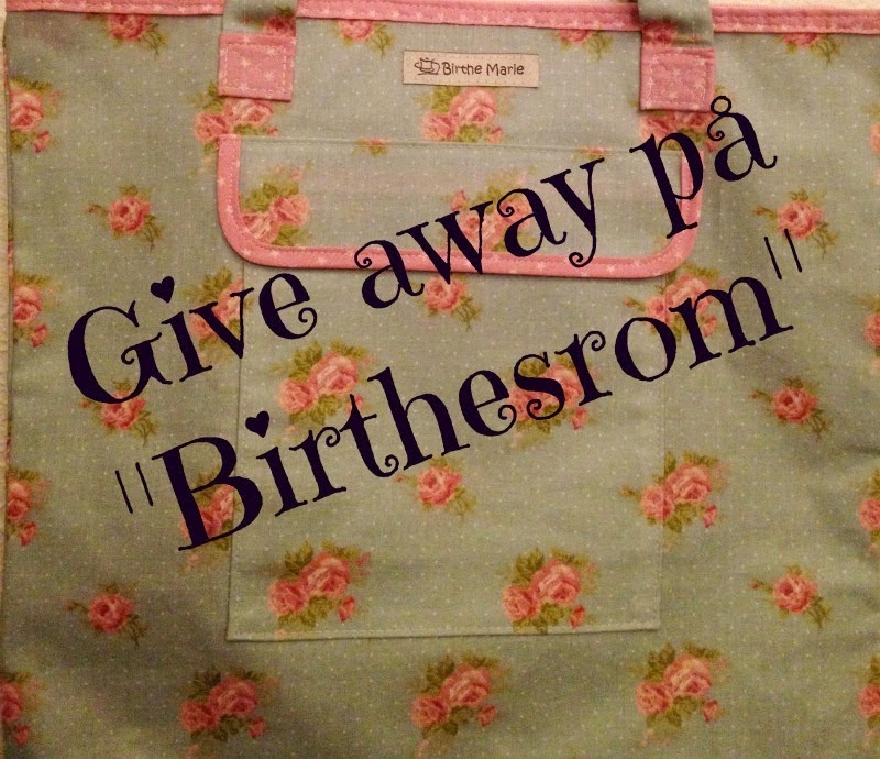 Flott give -away hos Birte