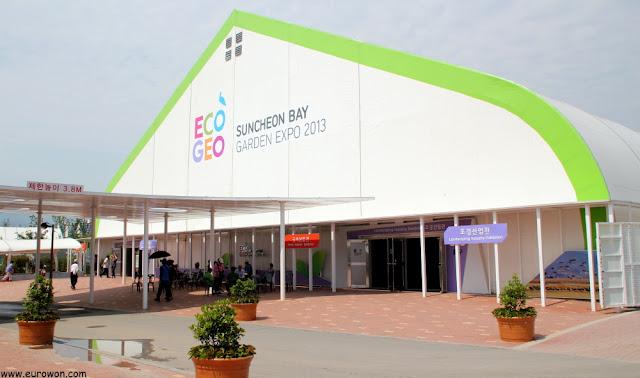 Pabellón de jardines interiores de la Expo de Suncheonman