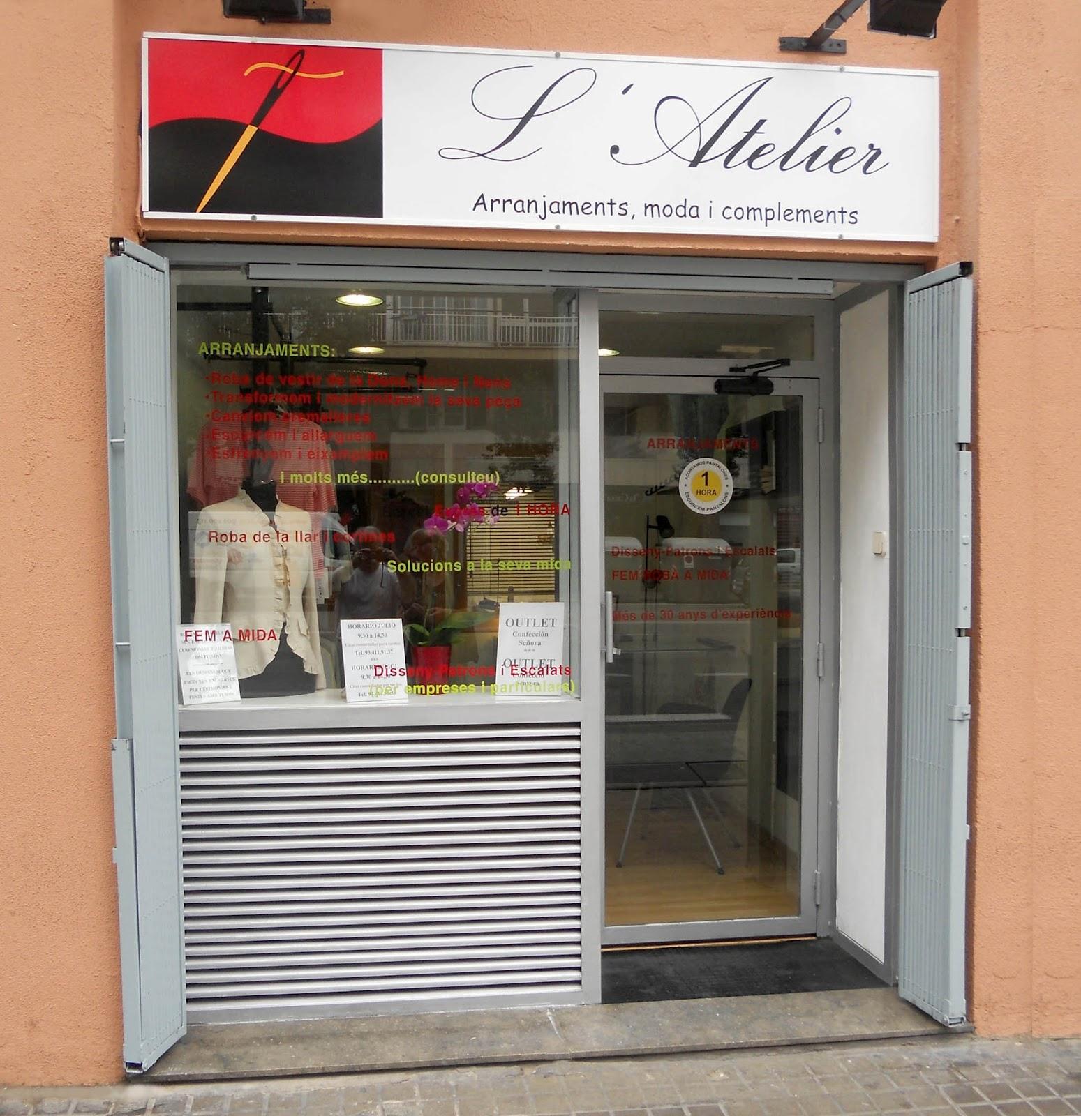 L 39 atelier arreglos de ropa y ropa a la medida - Ropa hogar barcelona ...