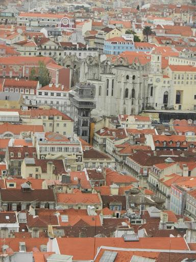 Лиссабон вид города