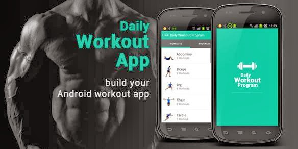 daily workout android app source code from codecanyon magone 2016