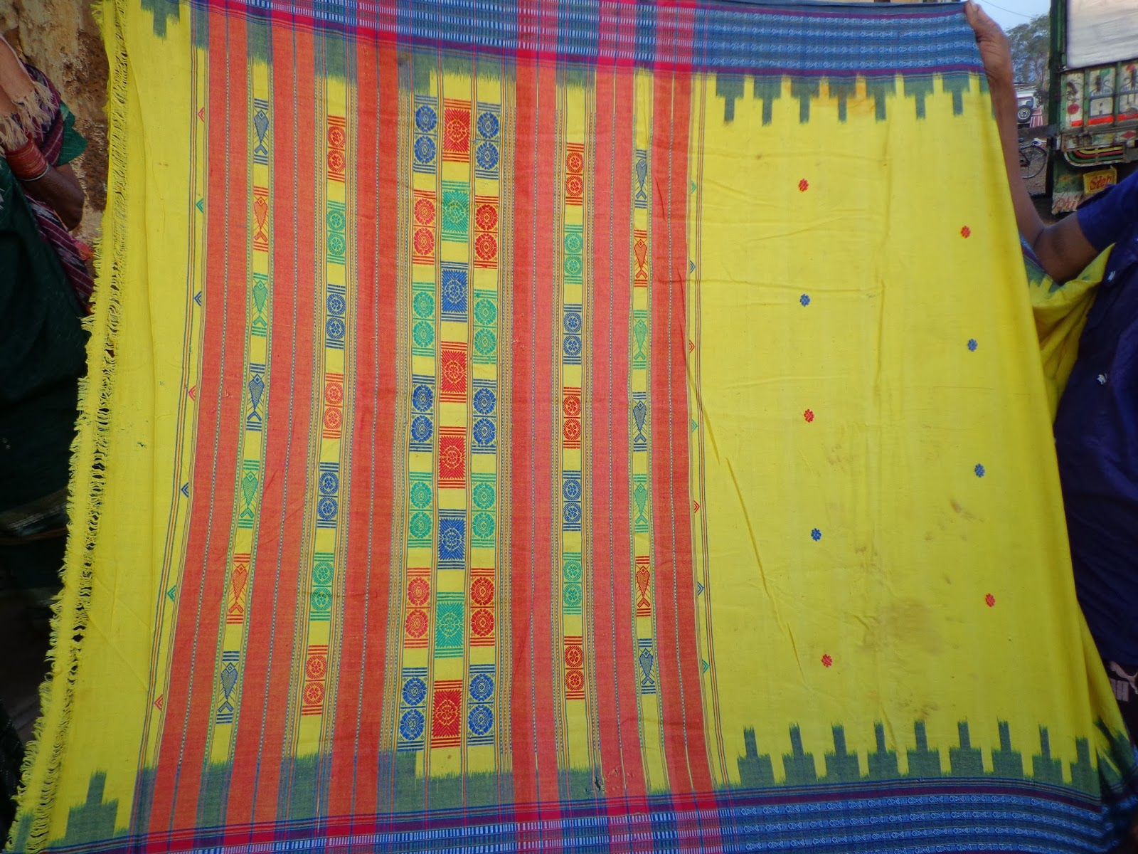 Last Piece of Siminoi Saree on Display