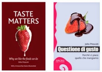 TASTE MATTERS ..... THE BOOKS