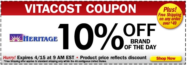 Vitacost coupons 10 off