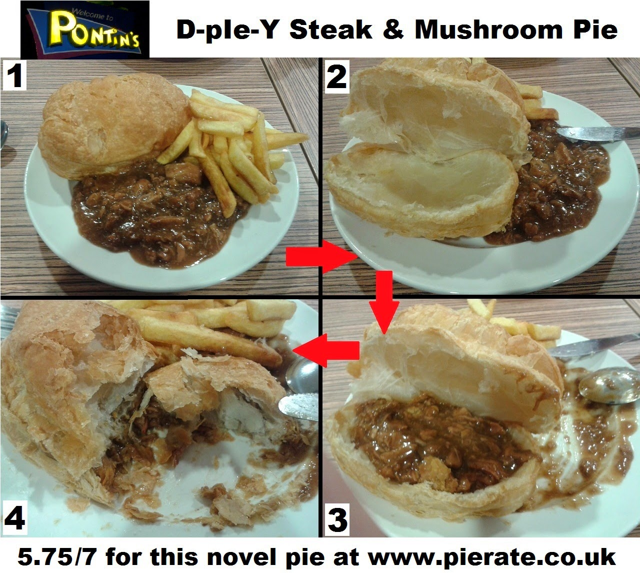 Pontins Steak Pie Review