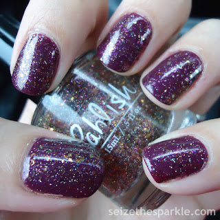 Pahlish December 2015 Monthly Duo Confectioner's Castle