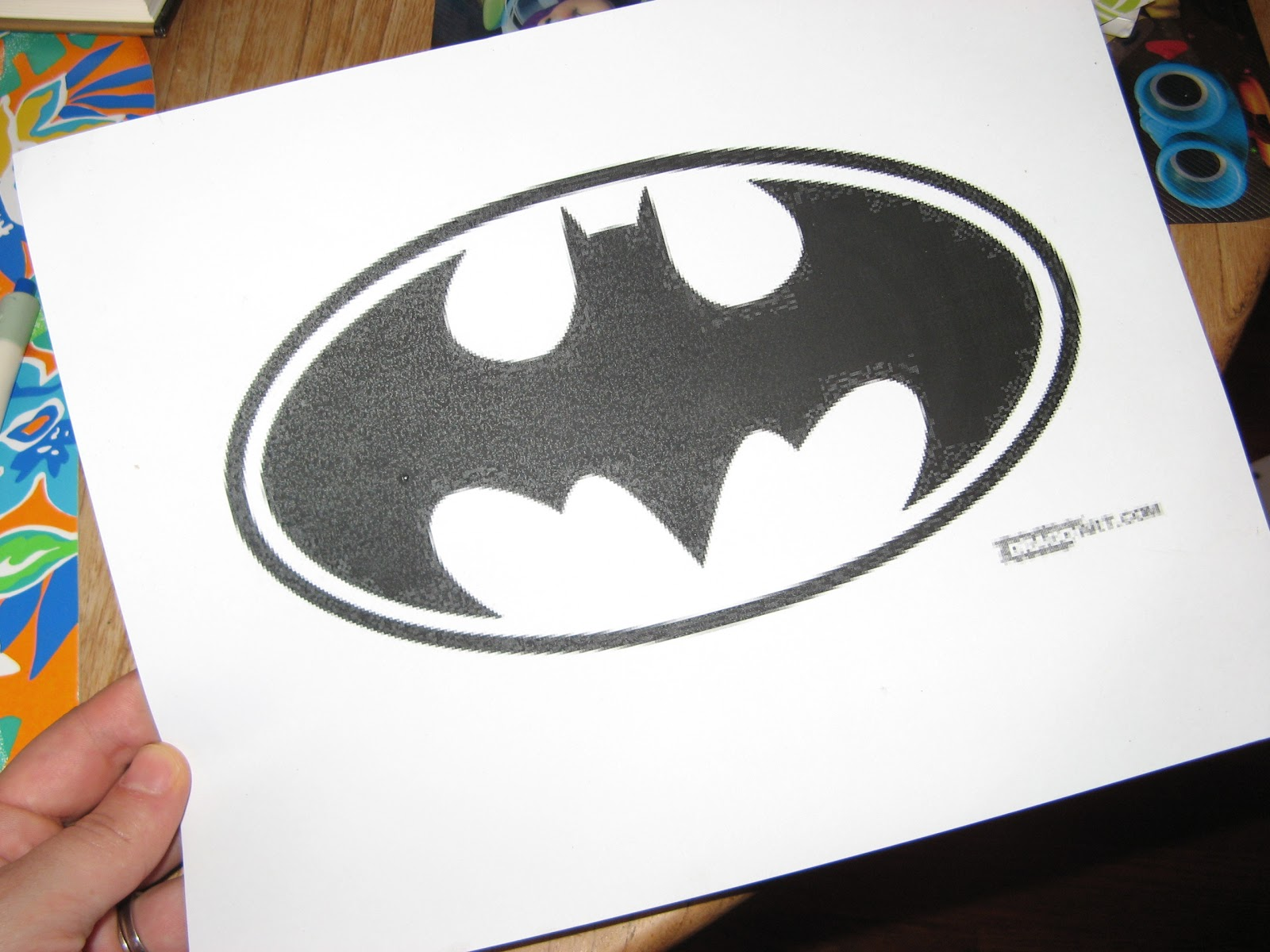 Crafty Betties Diy Batman T Shirt