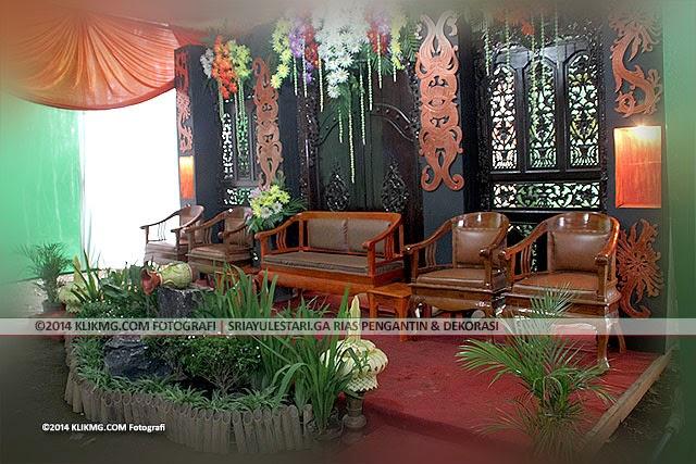 Dekorasi Pelaminan Rumahan & Siraman Sri Ayu Lestari Rias Pengantin Purwokerto   Klikmg Fotografi Purwokerto