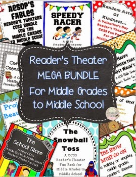 http://www.teacherspayteachers.com/Product/Readers-Theater-CCSS-MEGA-BUNDLEMiddle-Grades-to-Middle-School-1073295