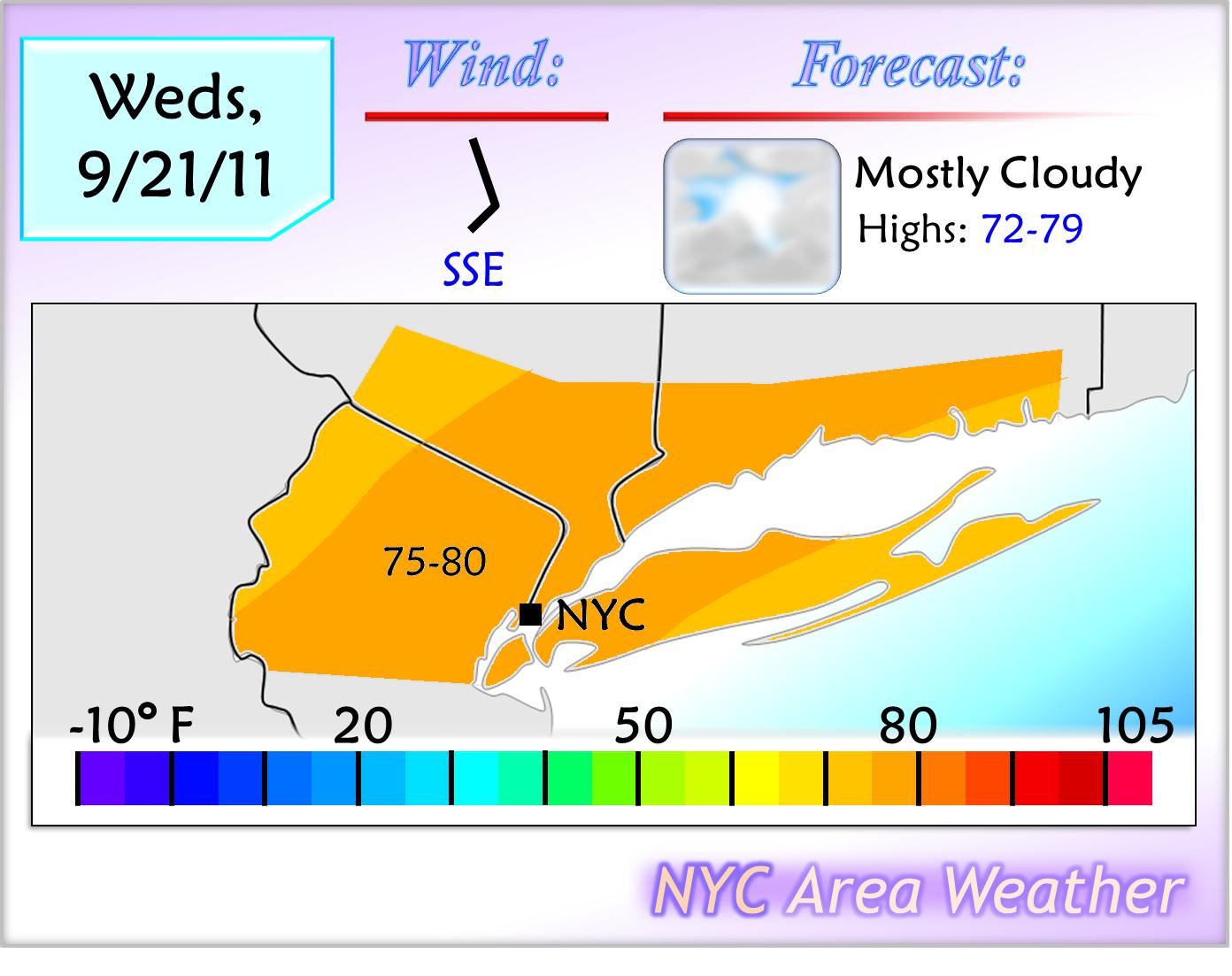Sept 20, 2011: Week Of Rain Starts Tomorrow | NYC Area Weather