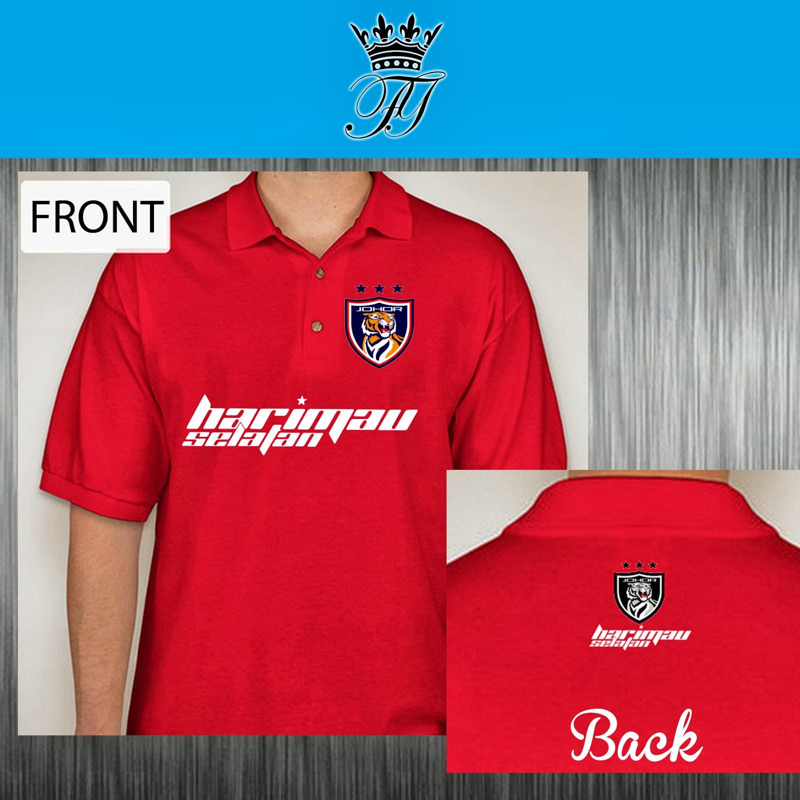 Design t shirt johor - Material 100 Cotton Lacoste