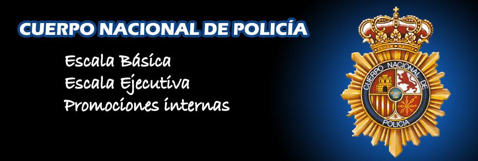 Preparación de oposición de Policía Nacional