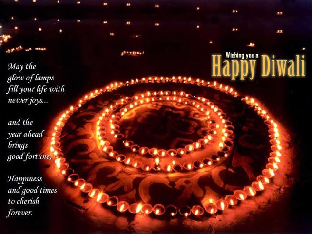 Beautiful diwali quote