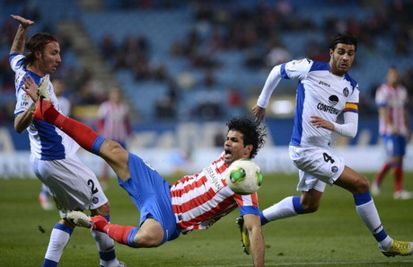 Hasil Atletico Madrid Vs Getafe