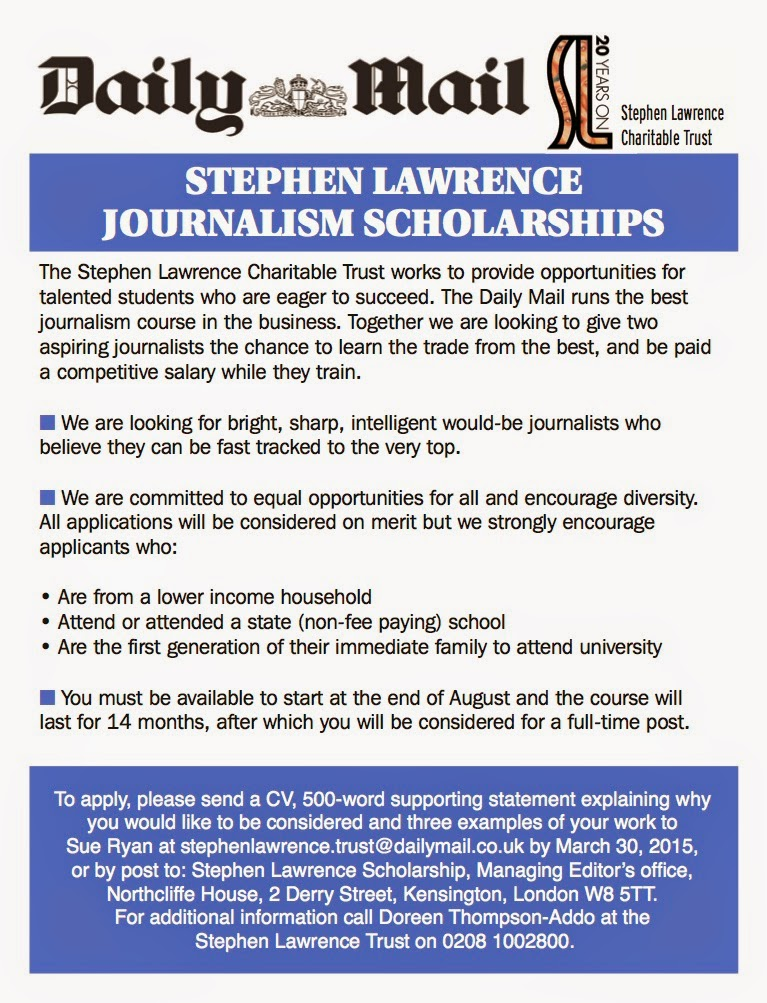 journalism scholarships The annual awards range from approximately $600 to $3000, and between 15  and 20 students each year receive the scholarships.