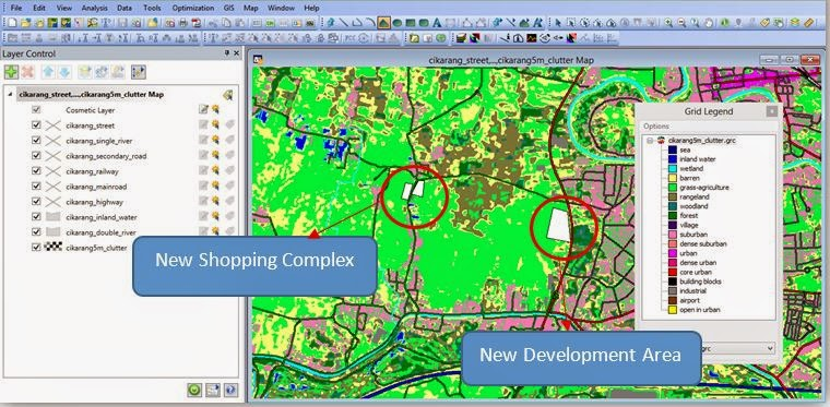How To Updated Classified MAP Grc In MAP Info Telconotes - Create street map
