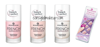french manicure essence nuovo smalto
