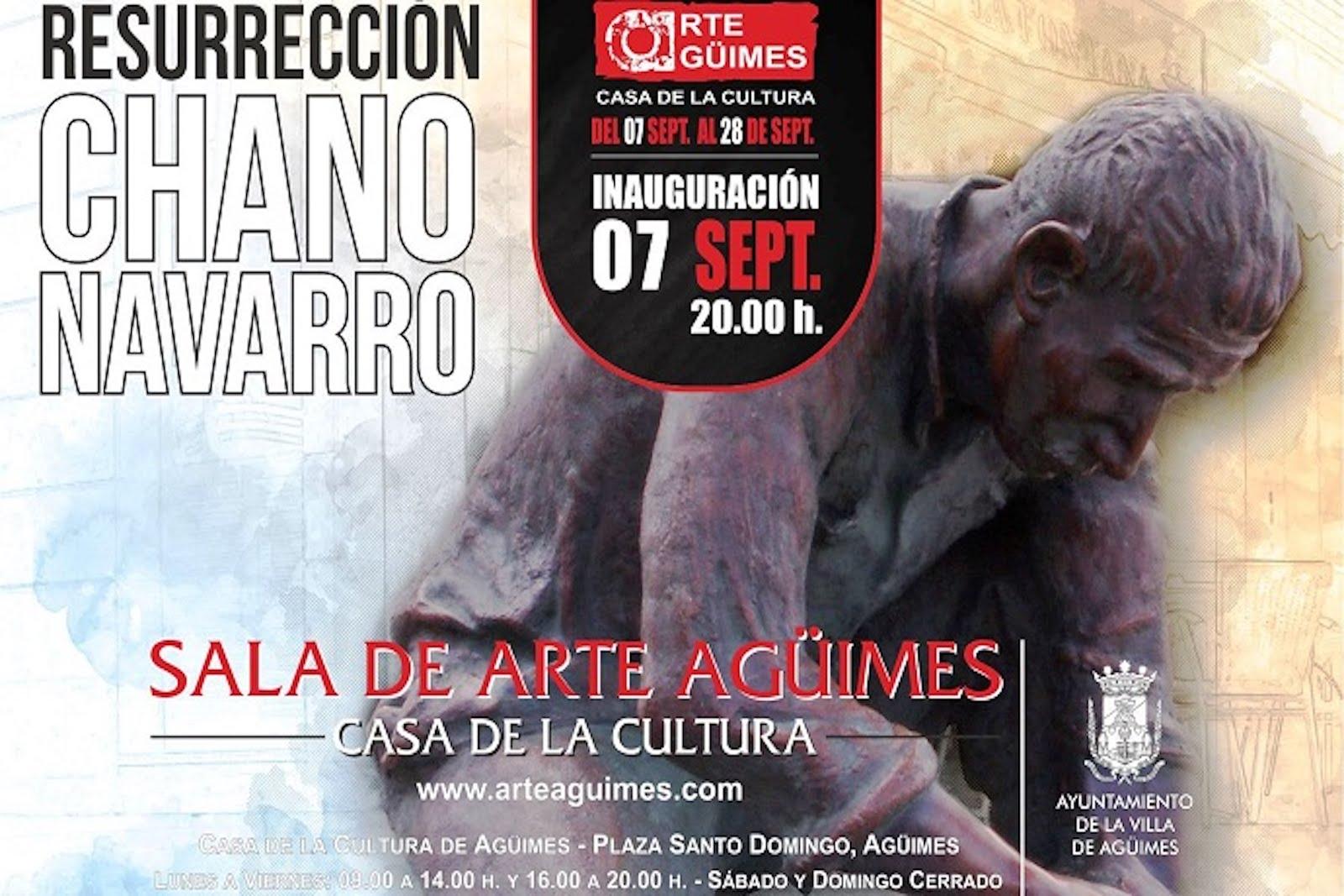 """""""Resurrección"""", de Chano Navarro, en la Sala de Arte Agüimes"""
