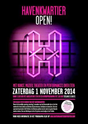 1& 2 November Havenkwartier OPEN!