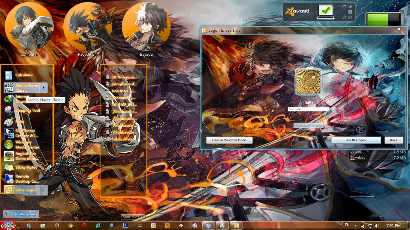 Google themes elsword - Download Here