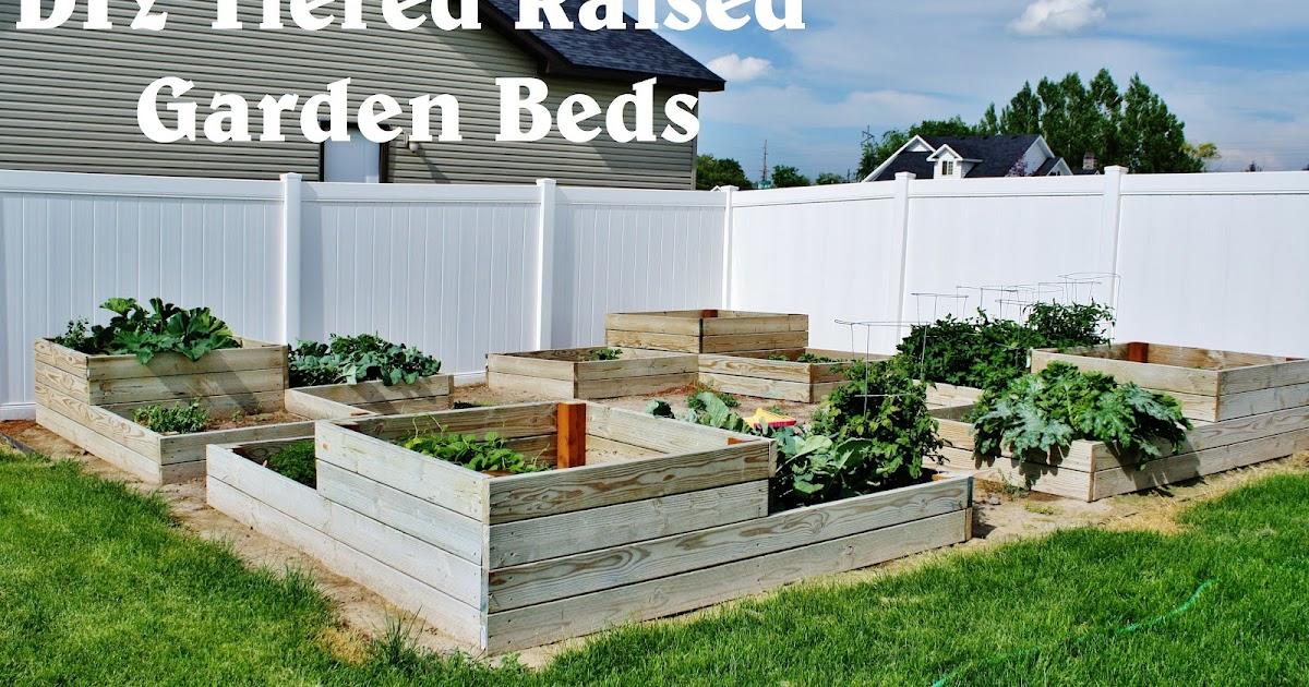 Diy Tiered Backyard : Creative Mommas DIY Tiered Raised Garden Beds