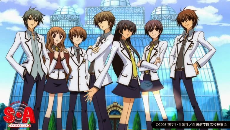 Anime Jepang Romantis Special A