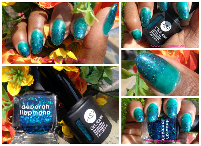 ASP Gel Polish in Tease Me Turquoise  Deborah LippmannAcross The Universe