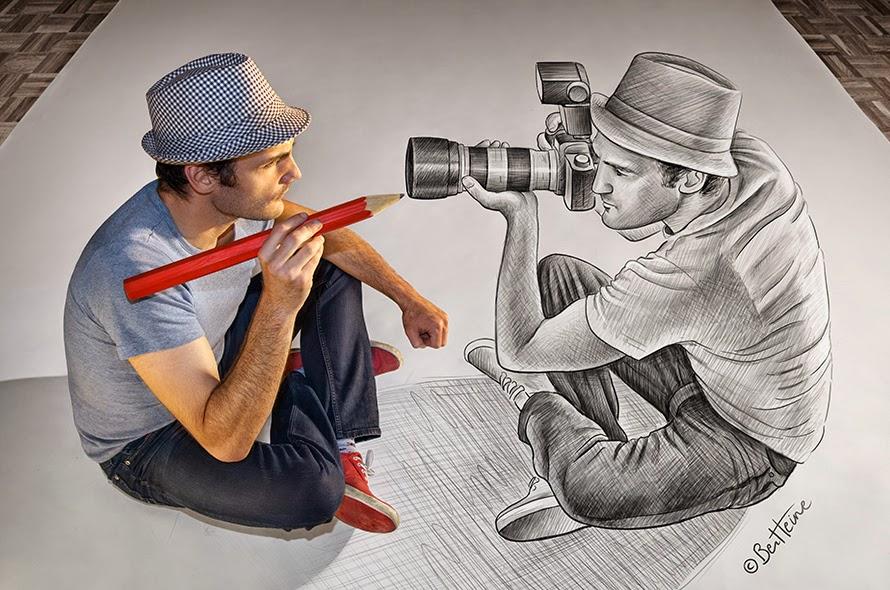Benjamin Heine, Pencil vs. Camera